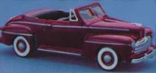 1948 Ford Convertible Kit with detailed engine