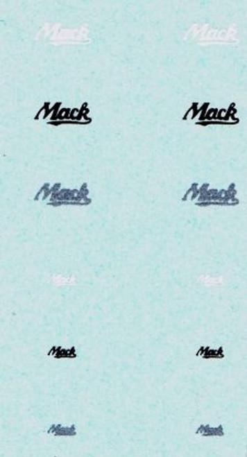 Decals for Mack Trucks