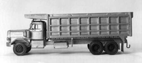 1955 Autocar Constructor Truck w/ 20 ft  Dump Box Kit