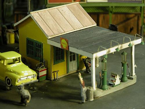1920's Gas Station Kit Super Kit