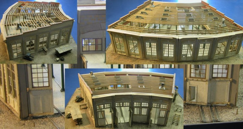 Sterling Colo 4 Stall Roundhouse Kit