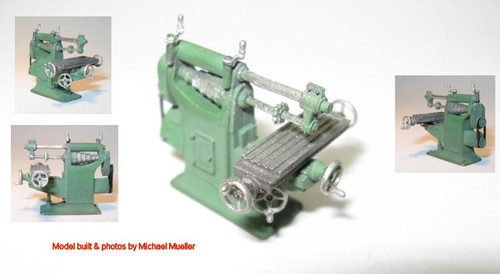 Desterlin Milling Machine Kit with Overhead Belt Drive