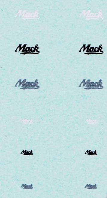 Mack Truck Decal Set