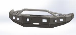 BUMPER WITH BULL BAR FOR 1992-1997 F250-F350