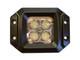20 Watt LED Light Pair(Flange Mount) with Combo pattern(Cree)E2