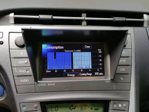 "NaviShade on Prius 6.1"" screen"