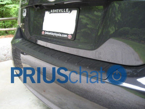 Rear Bumper Protector for 2012-2015 Toyota Prius Plug-in- OEM