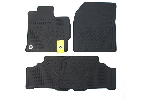 All Weather Floor Mats for 2012-2016 Toyota Prius v - OEM