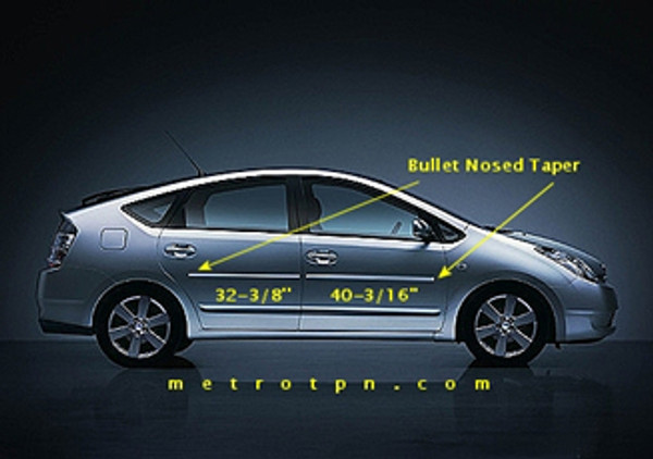 Body Side Moldings for 2004-2009 Toyota Prius