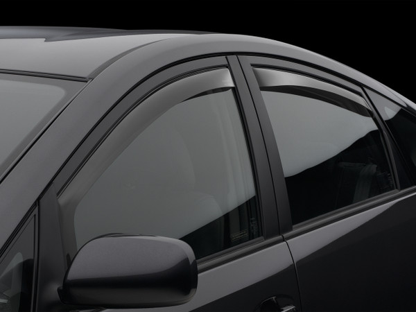 Weathertech Side Window Deflectors for 2004-2009 Toyota Prius