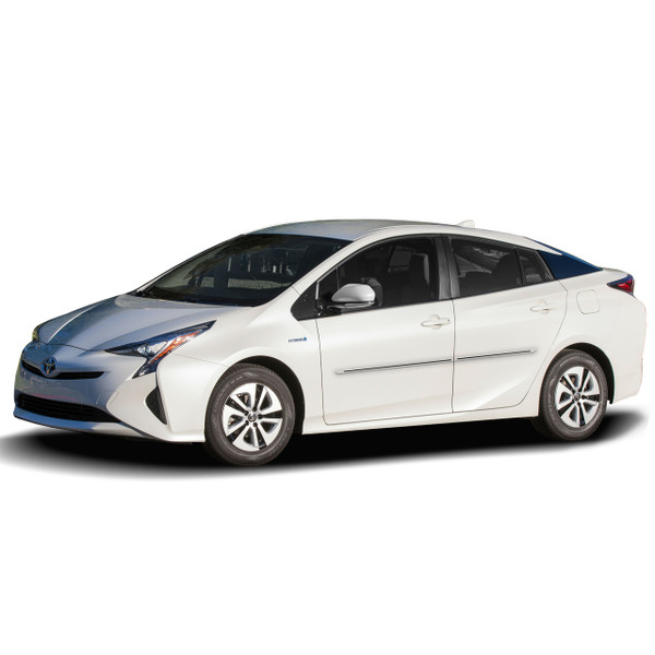 Engraved Painted Body Side Moldings With A Color Insert for 2016-2018 Toyota Prius