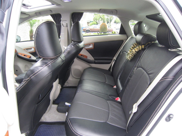 Clazzio Leather Seat Covers for 2016 - 2018 Toyota Prius
