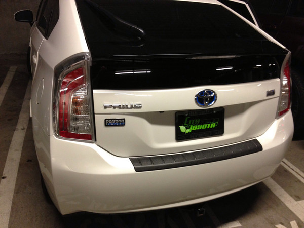 Rear Bumper Protector for 2010-2015 Toyota Prius - OEM
