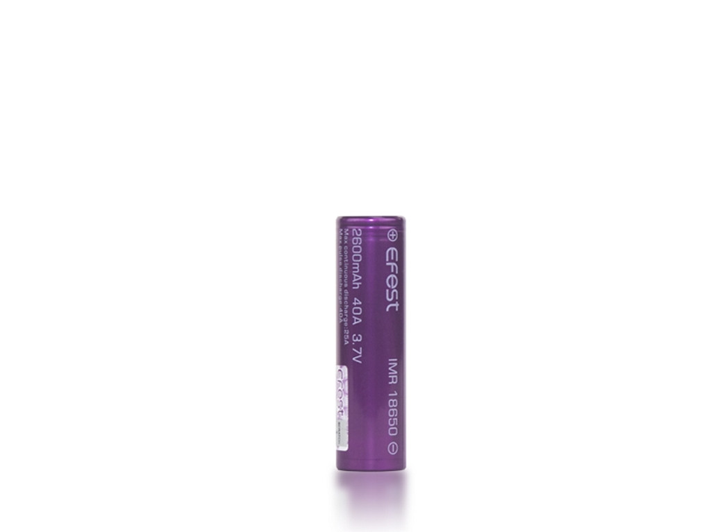 Efest 18650 Battery 2600mAh (Single)