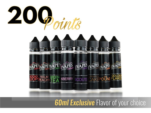 60mL Exclusive Line | Rewards