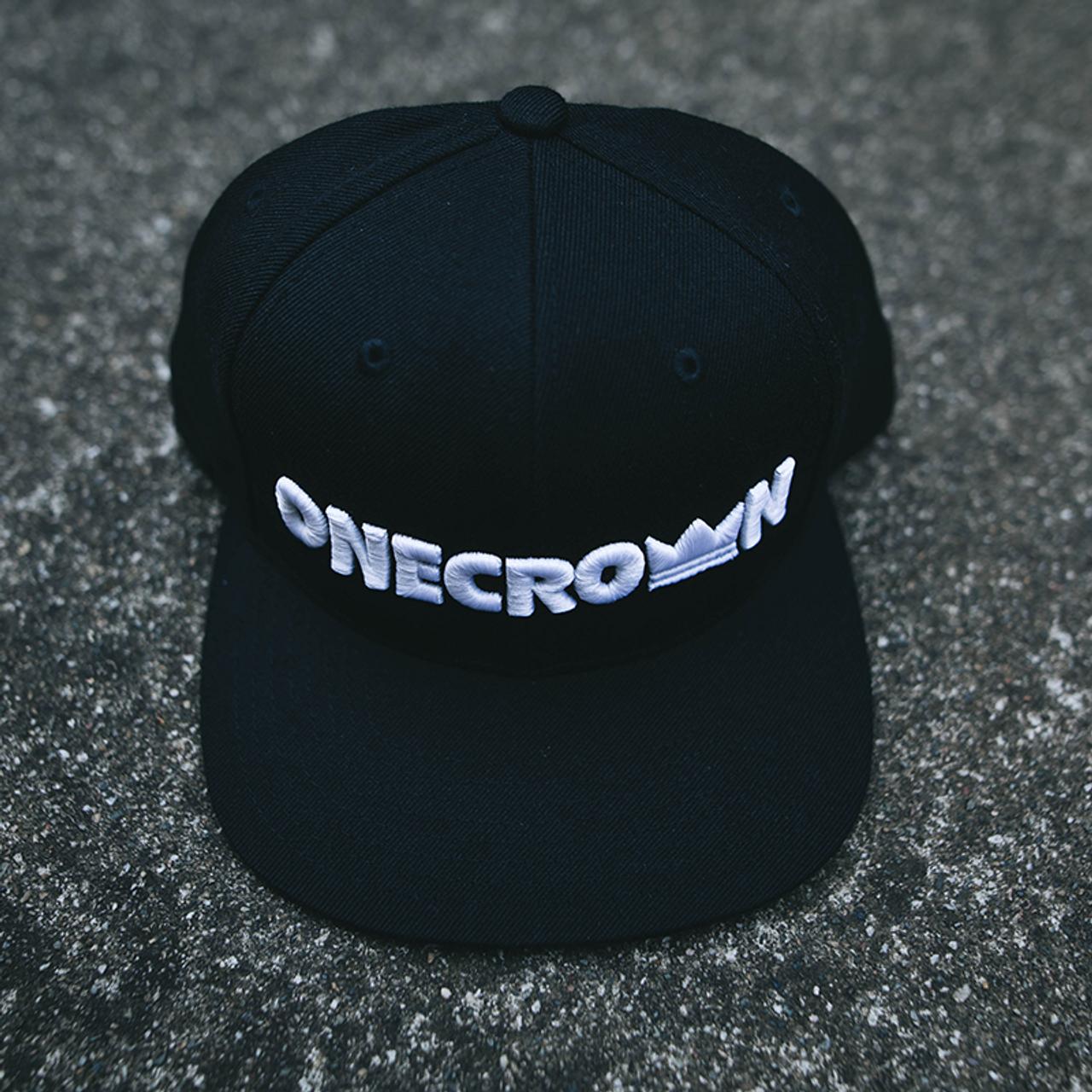Onecrown Logo - Snapback Hat - Black