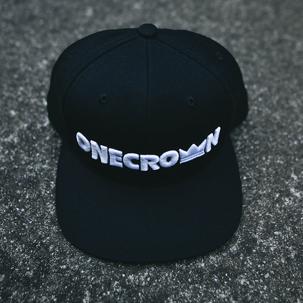 Onecrown Logo - Snapback Hat - Black