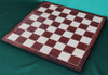 """New Sleek and Modern Solid Brass Luxury Chess Set with 95mm (3.75"""") King, Chess Board & Leather Case"""