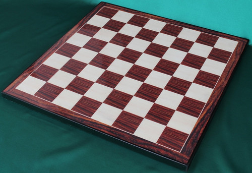 """The Heritage Knight Staunton Luxury Chess Set with 108mm (4.25"""") King in Rosewood, Chess Board & Leather Case"""