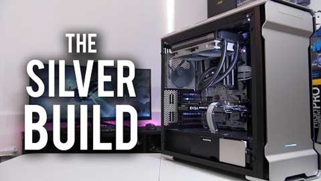 """BitWit October  PC of the Month """"The SIlver Build"""" Cables"""