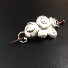 Swirls Shawl Pin