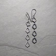 Lotus Earrings No. 4 Patina