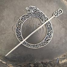 Celtic Lion Shawl Pin