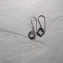 Lotus Earrings No. 1 Patina