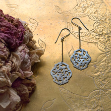 Acanthus Earrings No. 2 Patina
