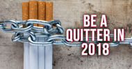 Be A Quitter in 2018