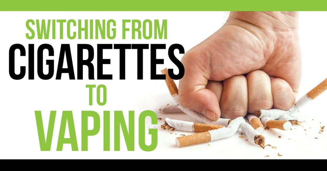 Switching from Cigarettes to Vaping