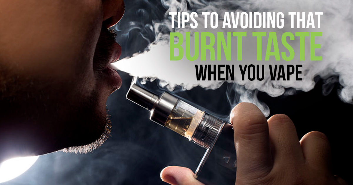 how to know when your vape coil is burnt
