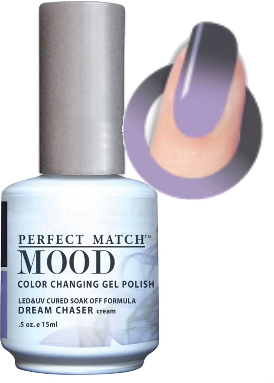 LeChat Mood Color Changing Gel Polish - MPMG40 DREAM CHASER (Cream ...