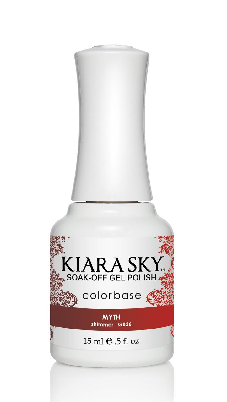Kiara Sky Ombre Color Changing Gel Polish - G826 Myth .5oz ...