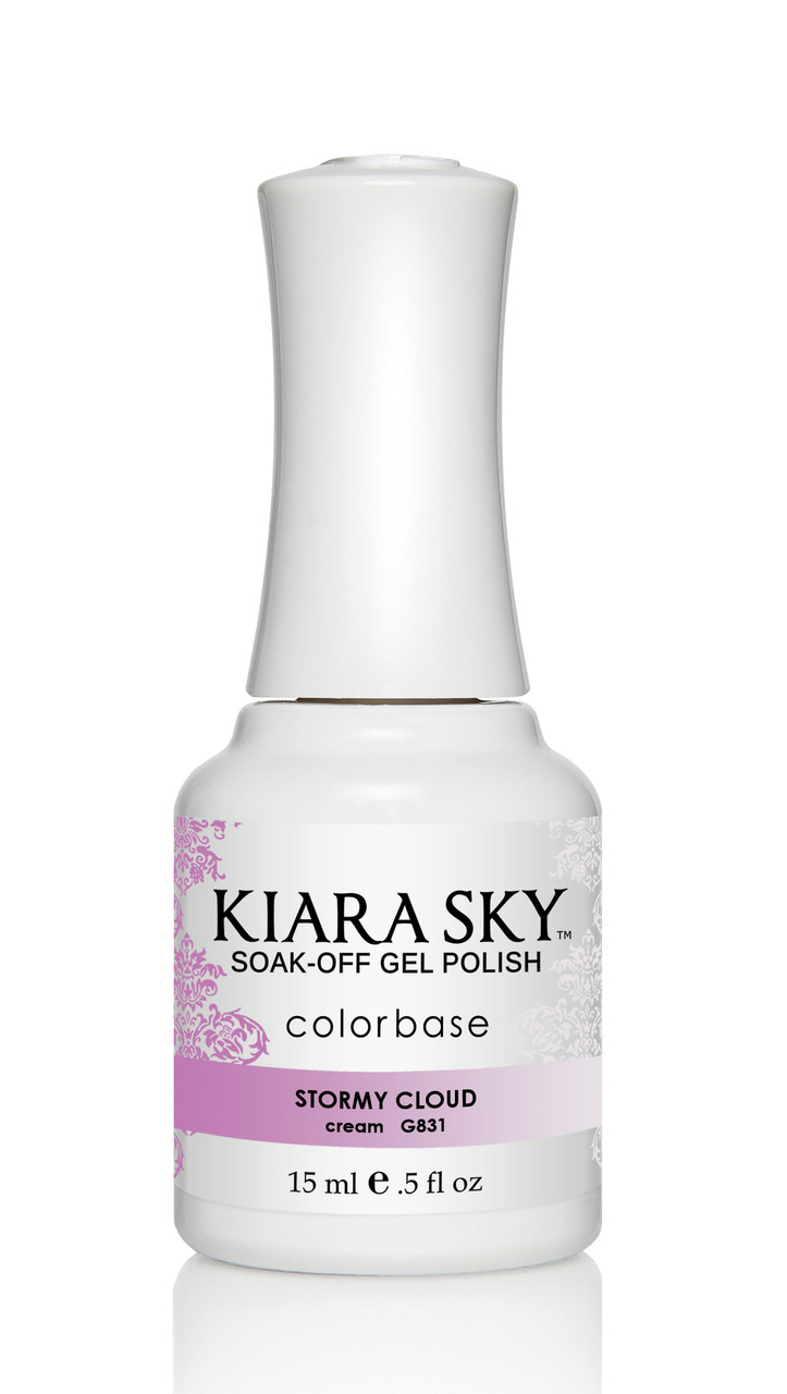 Kiara Sky Ombre Color Changing Gel Polish - G831 Stormy Cloud .5oz ...