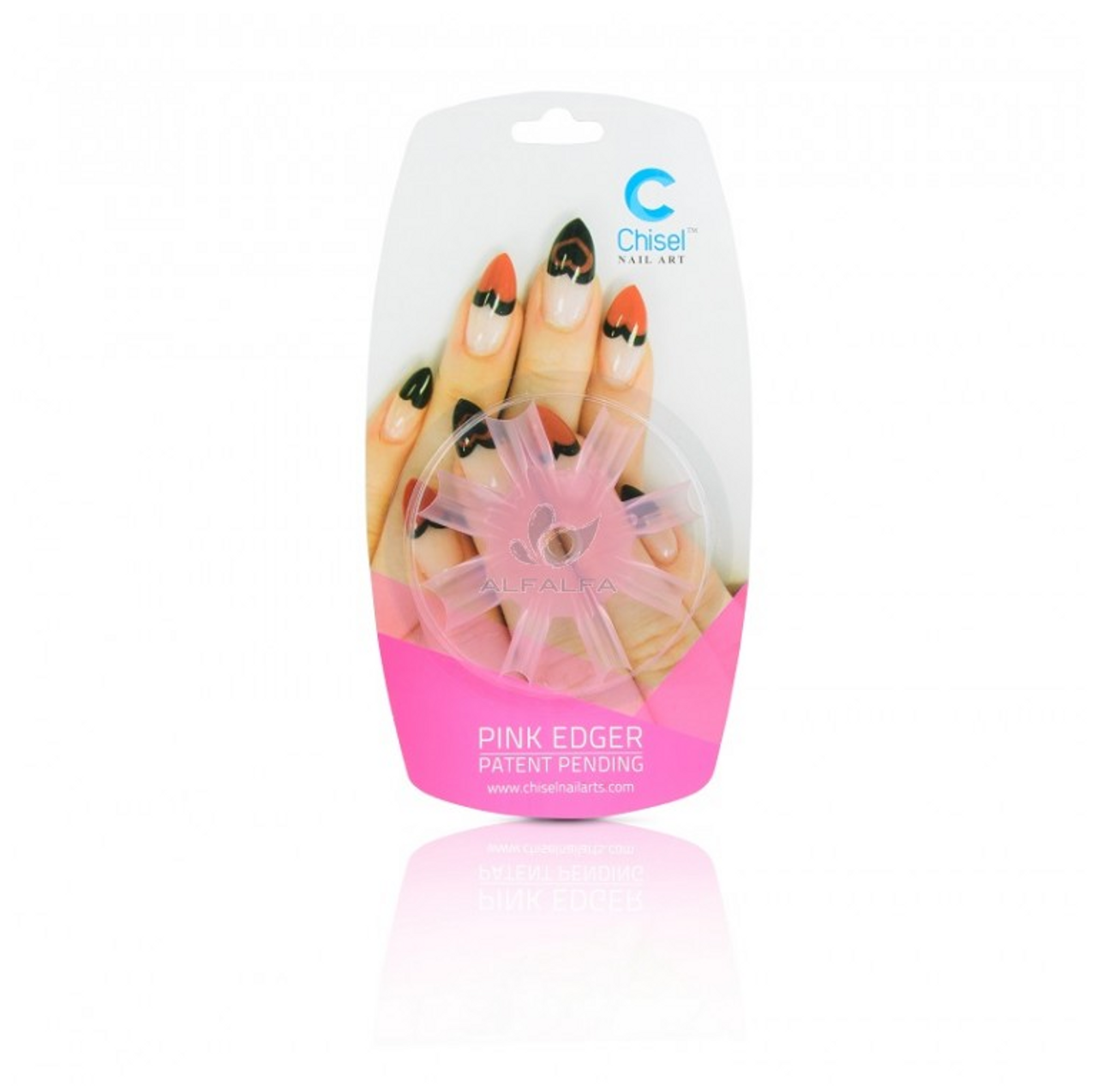 20% Off Chisel Nail Art - Heart Edger Pink - Princess Nail Supply
