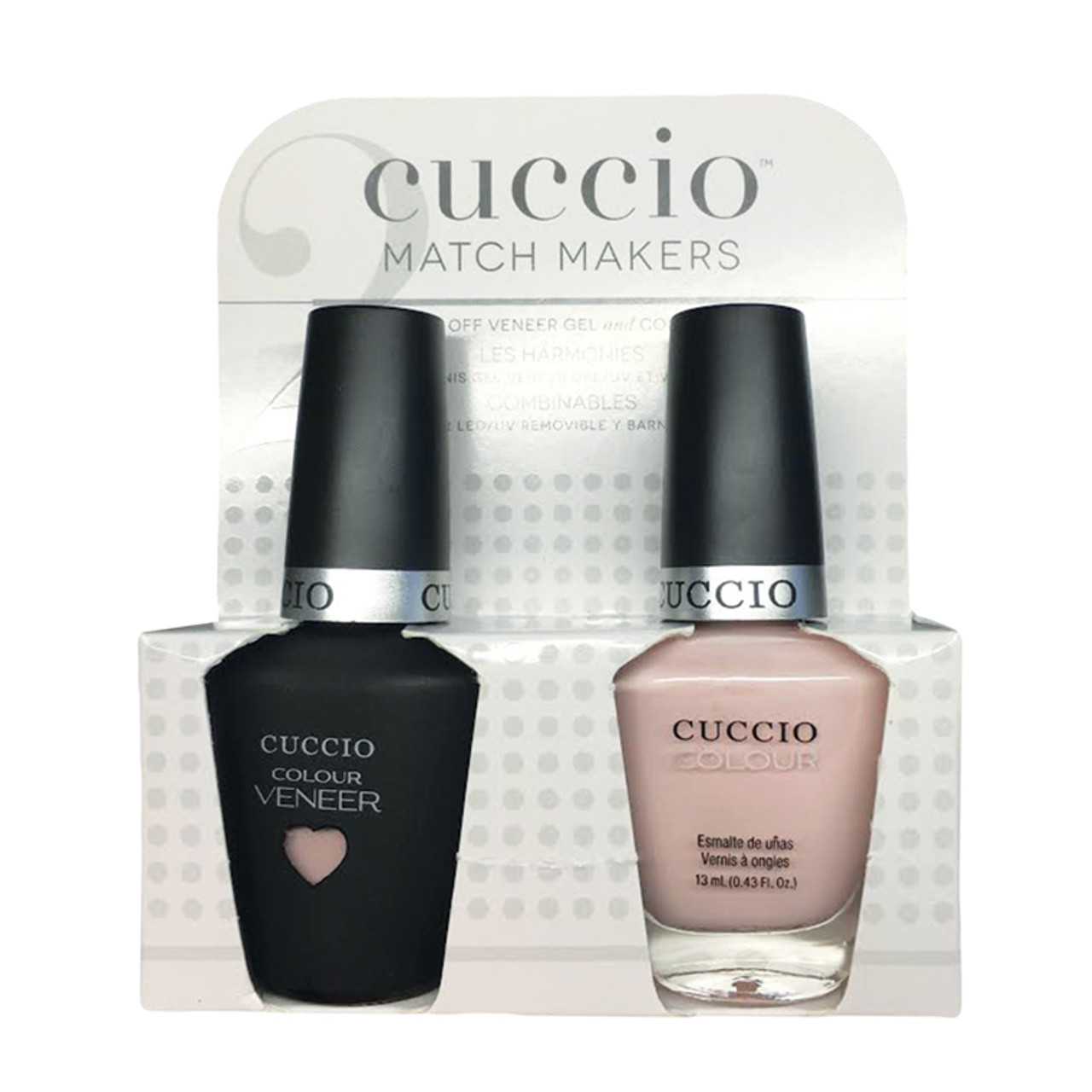 Cuccio Match Makers - #6401 Pink Champagne - Sweet Pink Collection ...