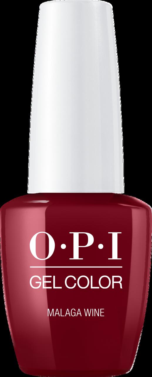 OPI GelColor - #GCL87A - MALAGA WINE .5oz - Princess Nail Supply