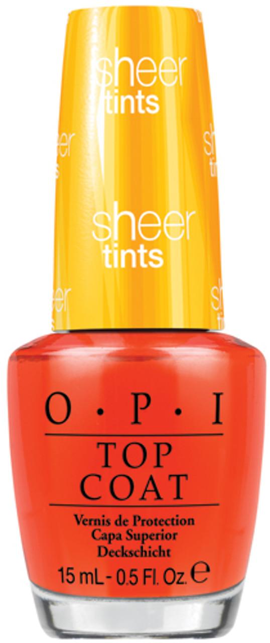 Opi Top Coat Nts01 I M Never Amberrassed 0 5 Oz