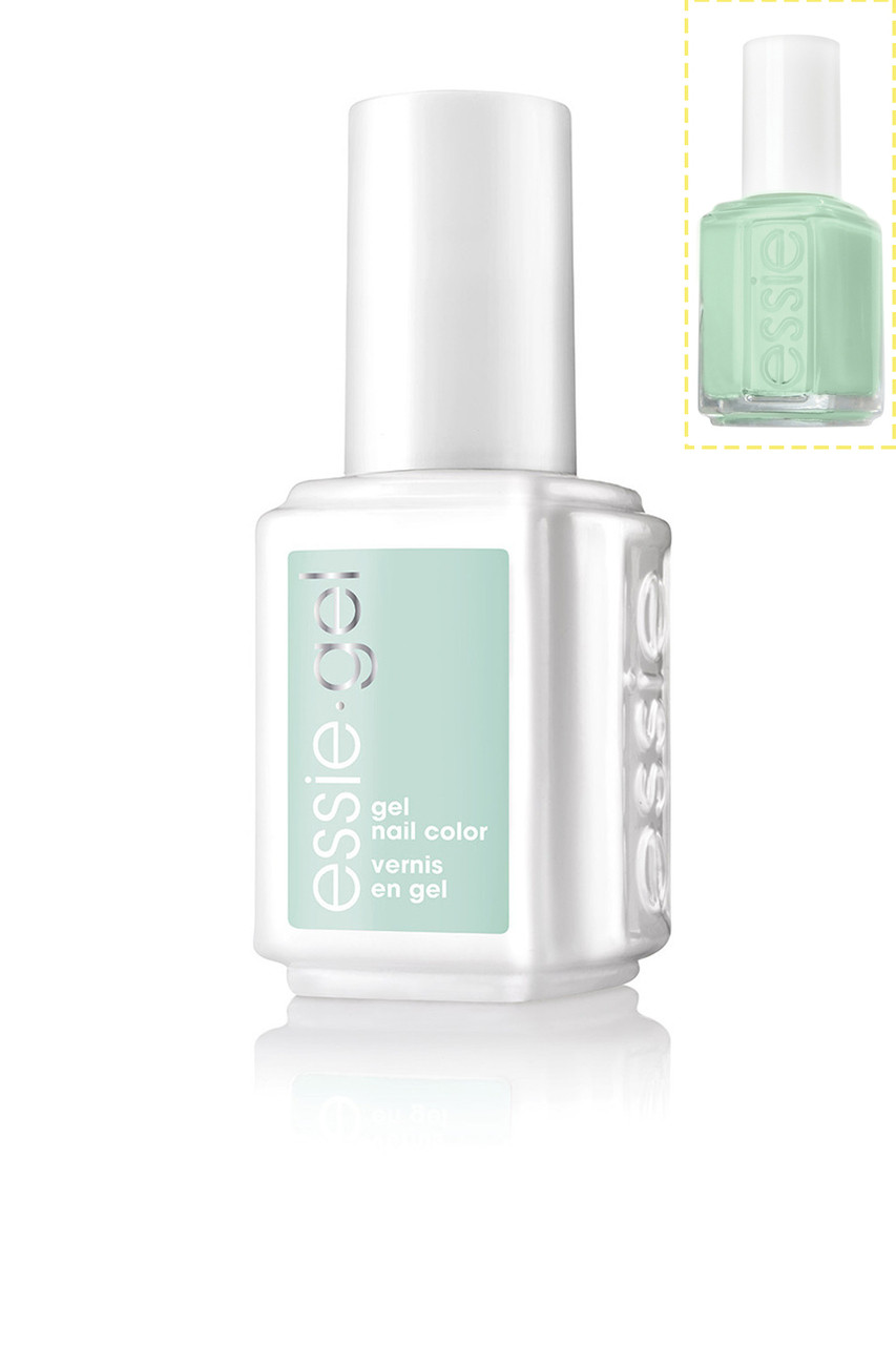 Essie Gel + Lacquer - #702G #702 Mint Candy Apple - Princess Nail Supply