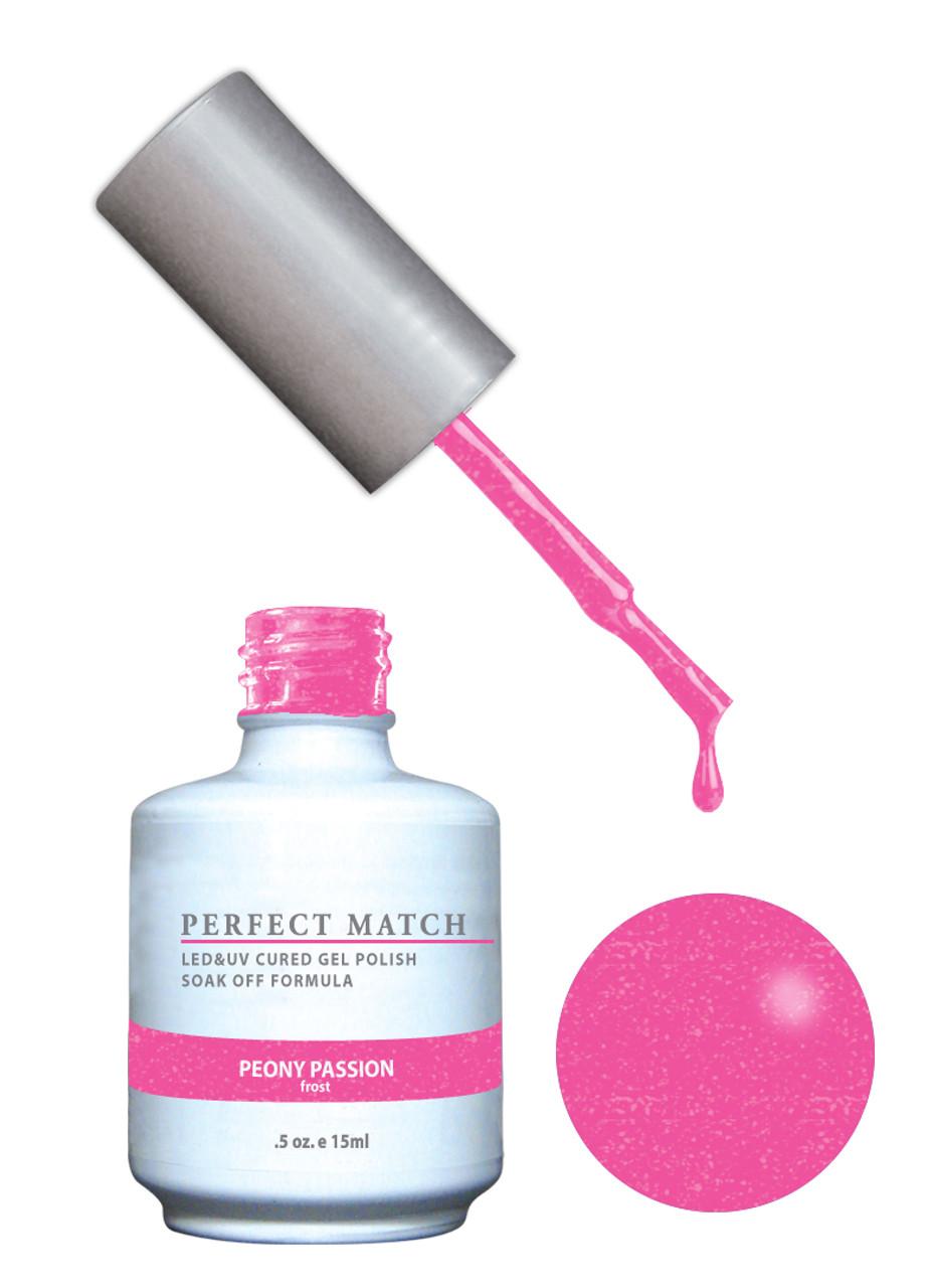 PERFECT MATCH Gel Polish + Lacquer - PMS147 Peony Passion - Princess ...