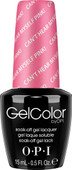 OPI GelColor - #GCA72 - Can't Hear Myself Pink! - Brights Collection (D) .5 oz
