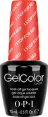 OPI GelColor - #GCA74 - I STOP for Red - Brights Collection (D) .5 oz