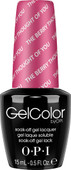 OPI GelColor - #GCA75 - The Berry Thought of You - Brights Collection (D) .5 oz