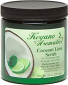Keyano Manicure & Pedicure, Coconut Lime Scrub 10 oz