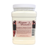 Keyano Manicure & Pedicure, Cranberry Butter Cream 64oz