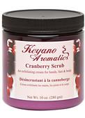 Keyano Manicure & Pedicure, Cranberry Scrub 10oz