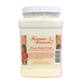 Keyano Manicure & Pedicure, Mango Butter Cream 64oz