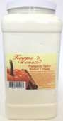Keyano Manicure & Pedicure, Pumpkin Spice Butter Cream Gallon