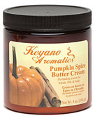 Keyano Manicure & Pedicure, Pumpkin Spice Butter Cream 8 oz.